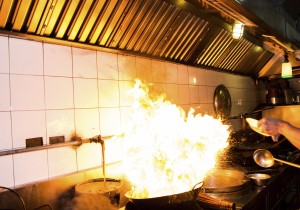 Commercial kitchen fire causes