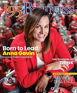 I95 Business Cover Featuring Anna Garvin