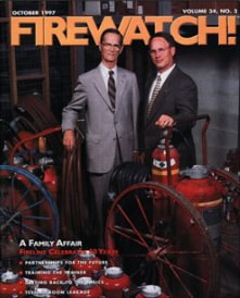 October 1997 Firewatch! Magazine Cover